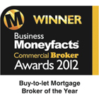 Buy to let Mortgage Broker of the Year 2012