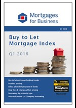 Buy to Let Mortgage Index Q1 2018