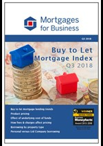 Buy to Let Mortgage Index - Q3 2018