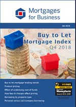 Buy to Let Mortgage Index Q4 2018