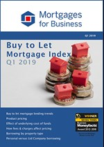 Buy to Let Mortgage Index - Q1 2019