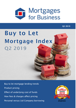Buy to Let Mortgage Index - Q2 2019