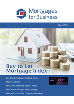 Buy to Let Mortgage Index - Q4 2019